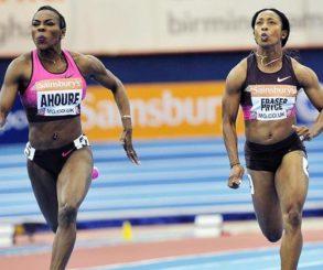 Athlétisme (1er meeting en salle):    Ahouré dans les pas de Fraser-Pryce à Glasgow