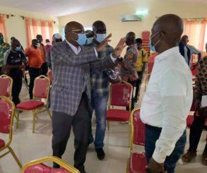Elections à la FIF      Les promesses d' Idriss Diallo  dans le Fromager