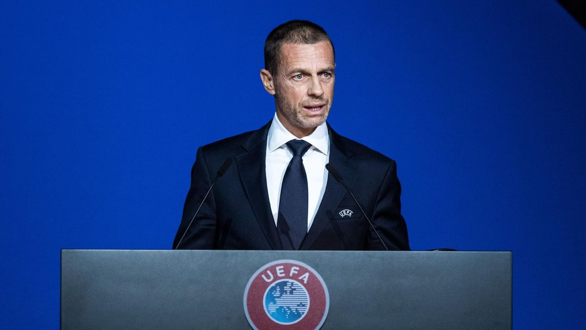 le président de l'UEFA, Aleksander Ceferin, juge prématuré l'arrêt de la saison de Ligue 1 française