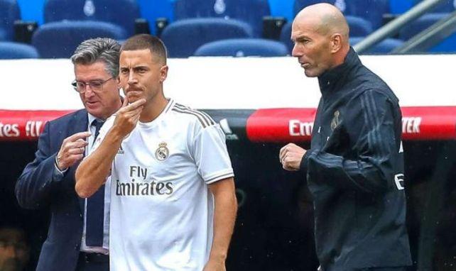 Real Madrid : Zidane n'est pas inquiet pour Hazard