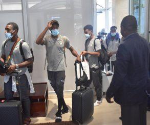Retour en images sur l'arrivée des Eléphants Olympiques à Abidjan