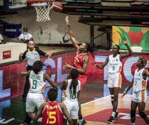 Afrobasket Féminin: Les Eléphants Dames en quart de finale